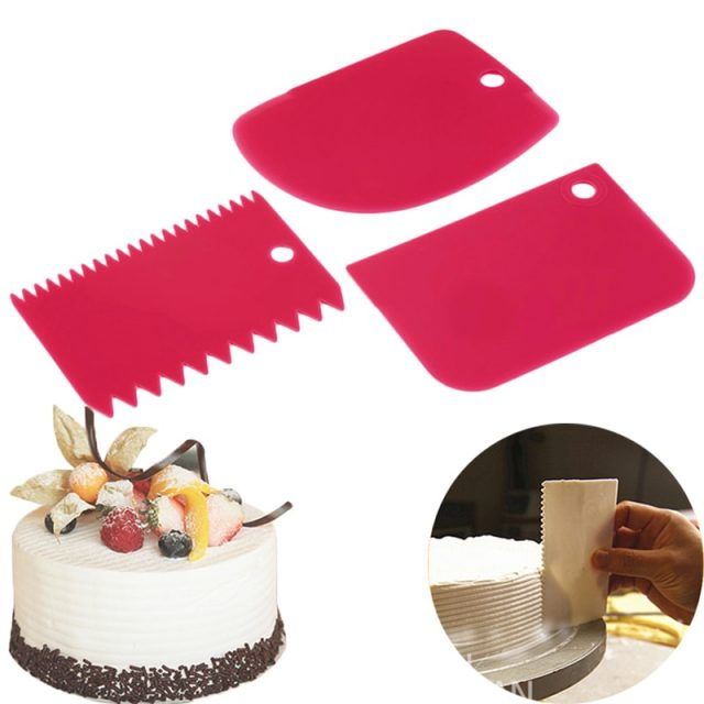 Multifunctional Cream Scraper 3 pcs Set