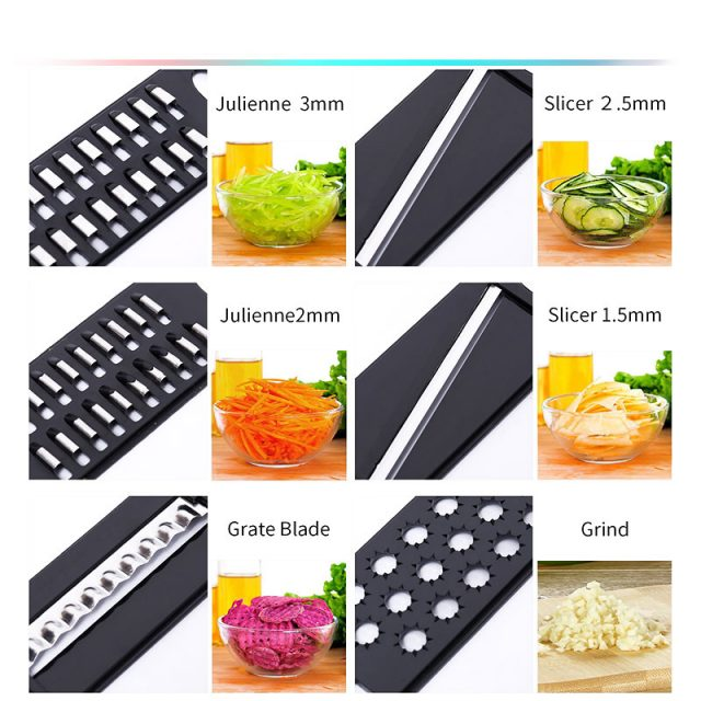 Eco-Friendly Plastic Vegetables and Fruits Grater